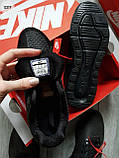 Мужские кроссовки Air Max 270 Cauchuk Flair Total Black, фото 4