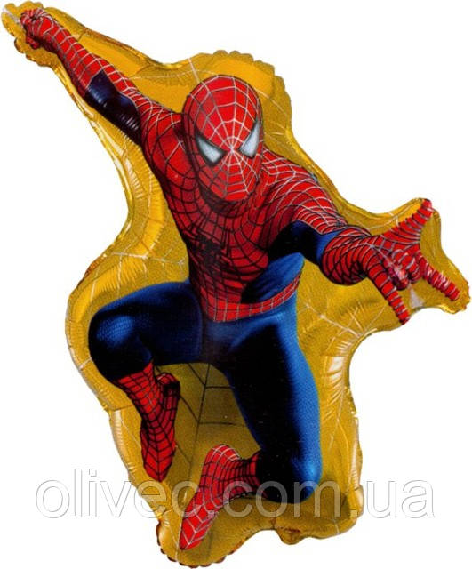 "Куля фольгований ""Spider man""."