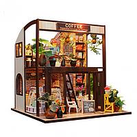 """3D Румбокс Кукольный дом """"COFFEE HOUSE"""""""