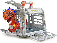 Інтерактивний динозавр WowWee Untamed Jailbreak Playset - Krypton (Bronze with Blue Glow) (3958) (B07NJKBHZZ)