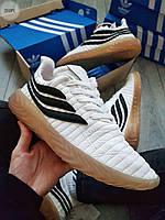 Мужские кроссовки Adіdas Sobakov White/Black