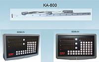 Энкодер SINO КА-800 преобразователь линейного перемещения  для станка измеряемая длина 3000 - 100000 мм