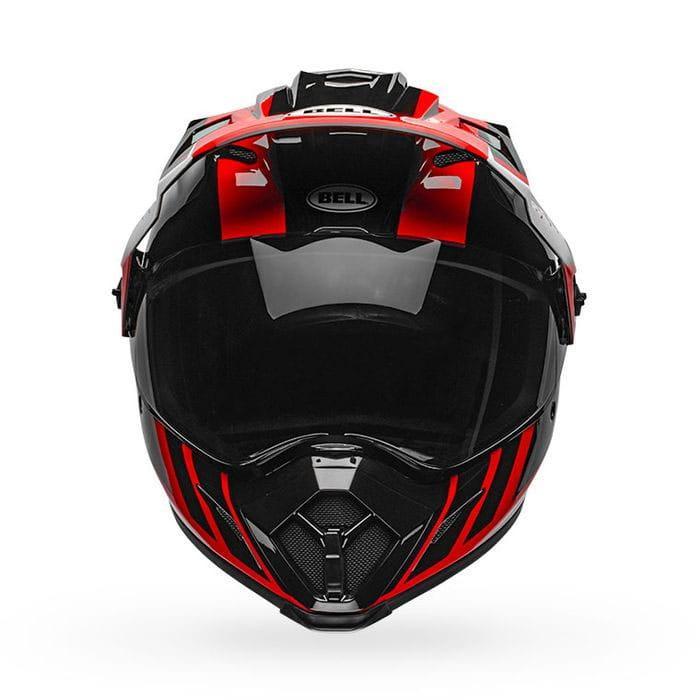 Шлем кроссовый Bell MX-9 Adventure MIPS Dash Red Black