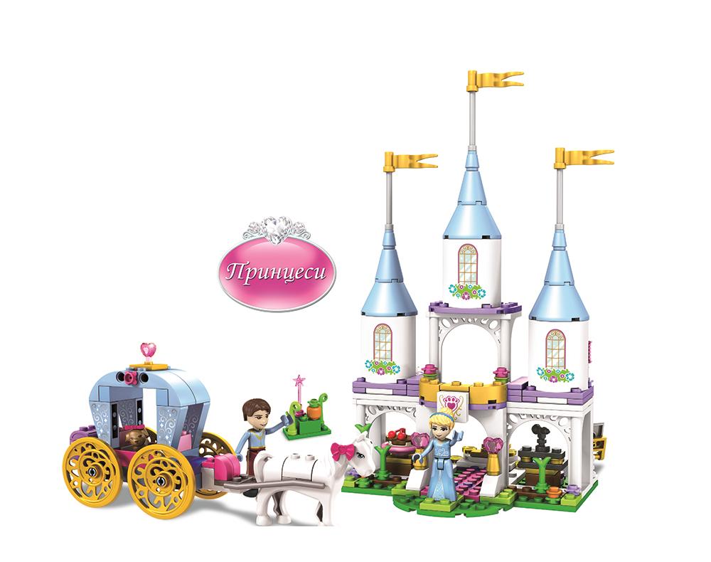 JVToy Конструктор Волшебный замок Золушки серия Принцессы, 15009