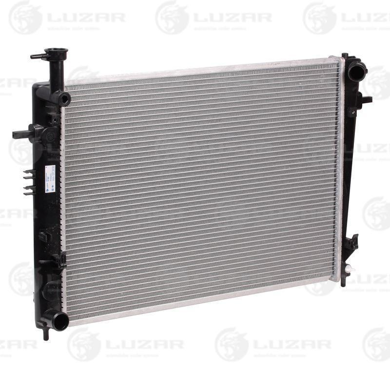 Радиатор охлаждения TUCSON/SPORTAGE (04-) МКПП LRc 0886 Luzar 253102E150 253102E170 253102E100 253100Z150