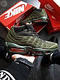 Мужские кроссовки Air Max 95 Sneakerboot Green, фото 2