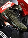 Мужские кроссовки Air Max 95 Sneakerboot Green, фото 3