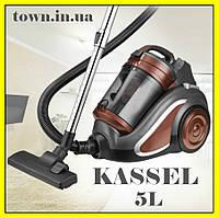 Пылесос Kassel 8078, Колбовый 5л ( 3000W ) Без мешка, для сухой уборки, бытовой, для дома