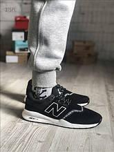 Мужские кроссовки New Balance 247 Black/White