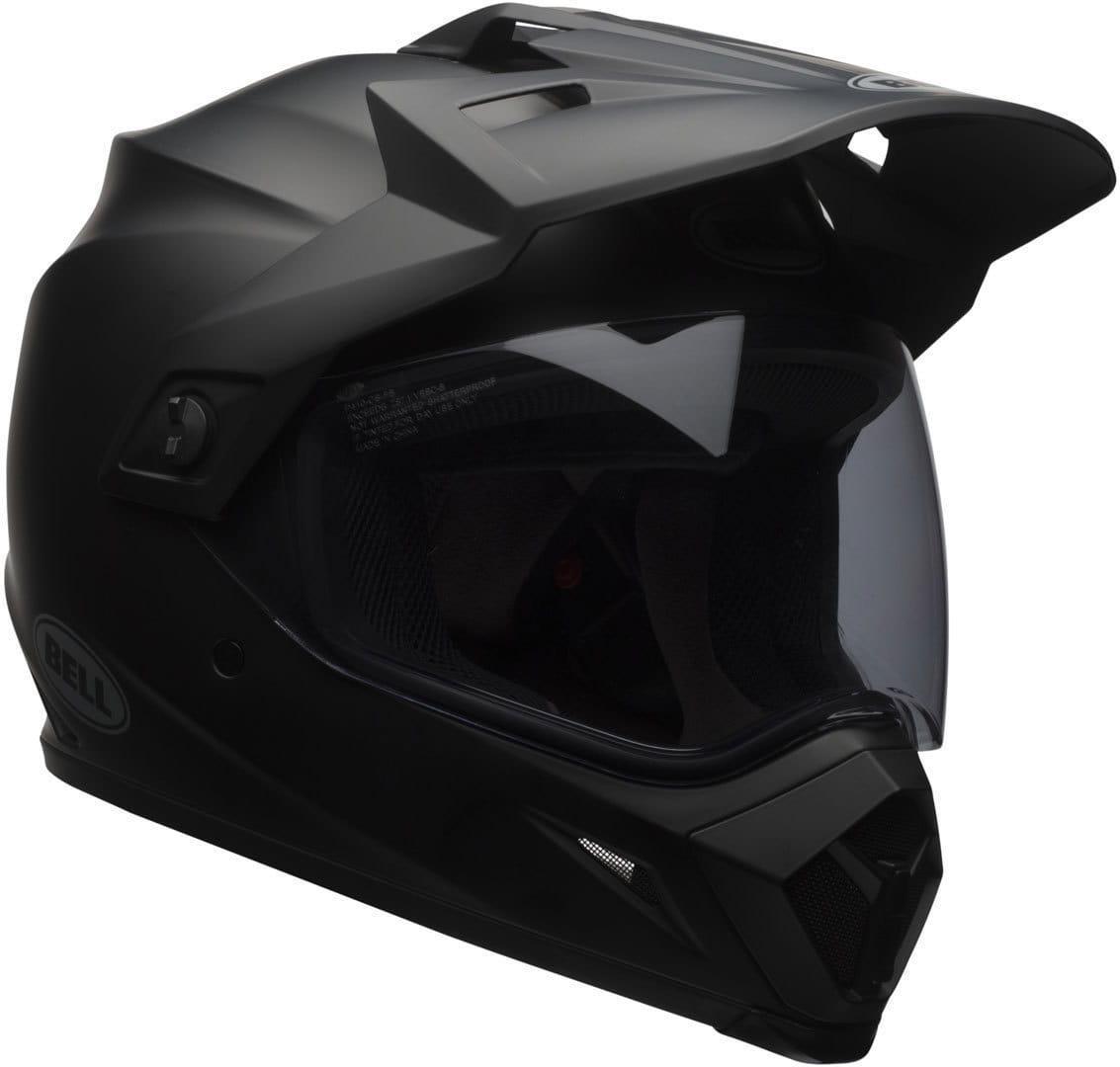 Шлем кроссовый Bell MX-9 Adventure MIPS SOLID Black Matt