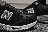 Мужские кроссовки New Balance 991 Black, фото 2