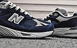 Мужские кроссовки New Balance 991 Blue, фото 2