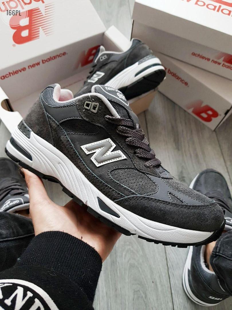 Мужские кроссовки New Balance 991 Dark Grey