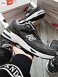 Мужские кроссовки New Balance 991 Dark Grey, фото 2