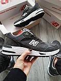 Мужские кроссовки New Balance 991 Dark Grey, фото 4