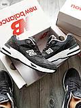 Мужские кроссовки New Balance 991 Dark Grey, фото 6