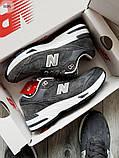 Мужские кроссовки New Balance 991 Dark Grey, фото 7