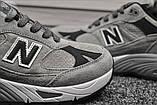 Мужские кроссовки New Balance 991 Light Grey, фото 2