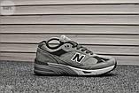Мужские кроссовки New Balance 991 Light Grey, фото 5