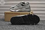 Мужские кроссовки New Balance 991 Light Grey, фото 6