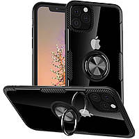 "TPU+PC чехол Deen CrystalRing под магнитный держатель (opp) для Apple iPhone 11 Pro (5.8"")"