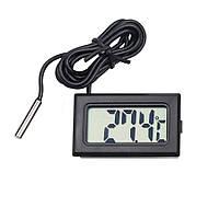 Цифровой термометр (встраиваемый автомобильный, для котла) с датчиком -50 ~ +110 °C