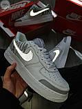 Мужские кроссовки Nike Air Force 1 Low Under Construction White/Grey, фото 2
