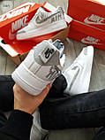Мужские кроссовки Nike Air Force 1 Low Under Construction White/Grey, фото 3