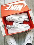 Мужские кроссовки Nike Air Force 1 Low Under Construction White/Grey, фото 5