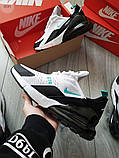 Мужские кроссовки Nike Air Max 270 White/Blue, фото 4