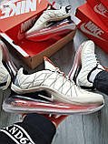 Мужские кроссовки Nike Air Max 720-818 bezh, фото 6