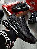 Мужские кроссовки Nike Air Max 720-818 Black/Gray, фото 7