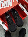 Мужские кроссовки Nike Run Zооm Total Black, фото 2
