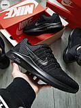 Мужские кроссовки Nike Run Zооm Total Black, фото 7