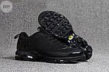 Мужские кроссовки Nike TN Air Black Kauchuk, фото 5