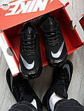 Мужские кроссовки Nike TN Air Black/Gray, фото 2