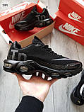Мужские кроссовки Nike TN Air Black/Gray, фото 4