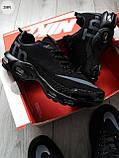Мужские кроссовки Nike TN Air Black/Gray, фото 5