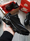 Мужские кроссовки Nike TN Air Black/Gray, фото 6