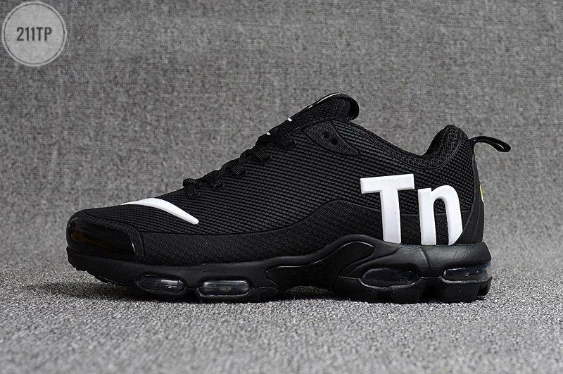 Мужские кроссовки Nike TN Air Black/White Kauchuk