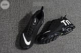 Мужские кроссовки Nike TN Air Black/White Kauchuk, фото 2