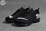 Мужские кроссовки Nike TN Air Black/White Kauchuk, фото 5