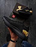 Мужские кроссовки Under Armour HOVR Phantom SE/ Gold, фото 4