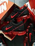 Мужские кроссовки Vapormax 19 Kauchuk Black/Red, фото 3