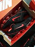 Мужские кроссовки Vapormax 19 Kauchuk Black/Red, фото 5