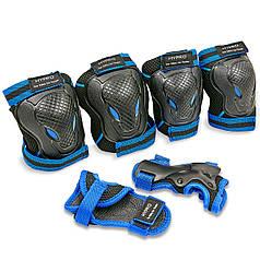 Защита детская наколенники, налокотники, перчатки HYPRO SK-6967 (р-р S-M-3-12лет, цвета в ассортименте)