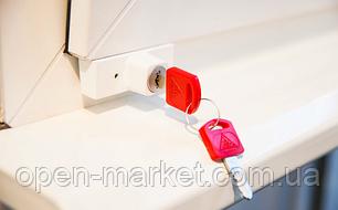 4 ШТ - комплект. BSL ORIGINAL - Блокирующий замок на окно, детская безопасность. Упаковка блистер., фото 2