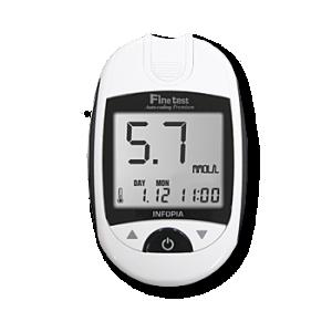 Глюкометр Fine Test Premium - Файнтест+50 тест-полосок, фото 2