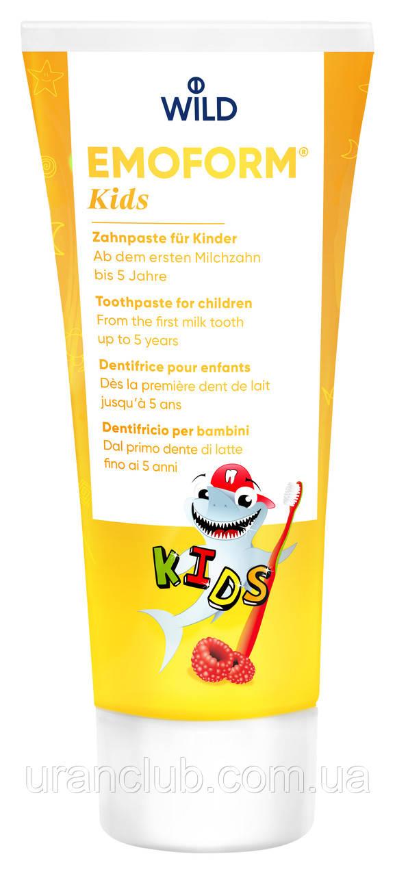 Зубная паста для малышей emoform actifluor kids 0-5 75 мл.