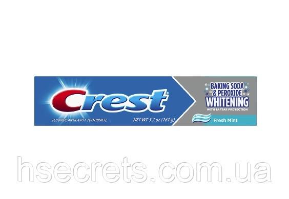 Зубная паста Crest Baking Soda Peroxide Whitening, 161г